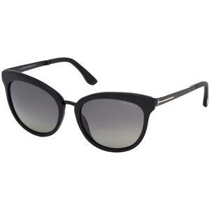 Tom Ford Polarized Sunglasses Black w/Grey Lens